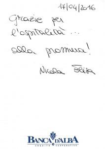 Casa Vacanze Fusina (Dogliani - Langhe) - Recensione Nicola & Elisa