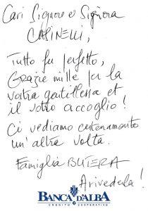 Casa Vacanze Fusina (Dogliani) - Recensione Famiglia Butera