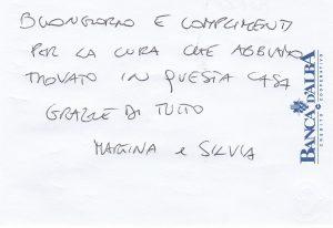 Casa Vacanze Fuisna (Dogliani) - Recensione Martina & Silvia