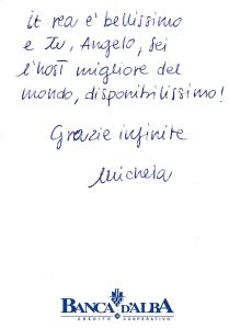 Casa Vacanze Fuisna (Dogliani) - Recensione Michela
