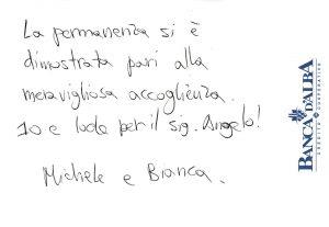 Casa Vacanze Fuisna (Dogliani) - Recensione Michele & Bianca