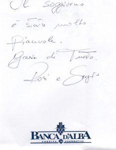Casa Vacanze Fusina (Dogliani) - Recensione Rosi & Sergio