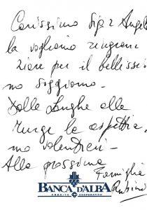 Casa Fusina (Dogliani) - Recensione Famiglia Rubini