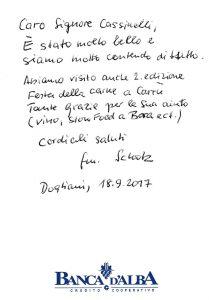 Casa Vacanze Fuisna (Dogliani) - Recensione Wolfang