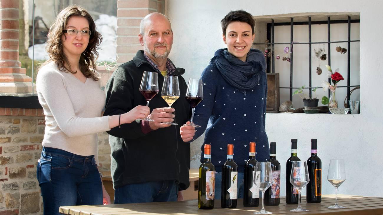 Casa Vacanze Fusina (Dogliani) - Chia, Dario e Irene Sciolla di Bricco del Cucù