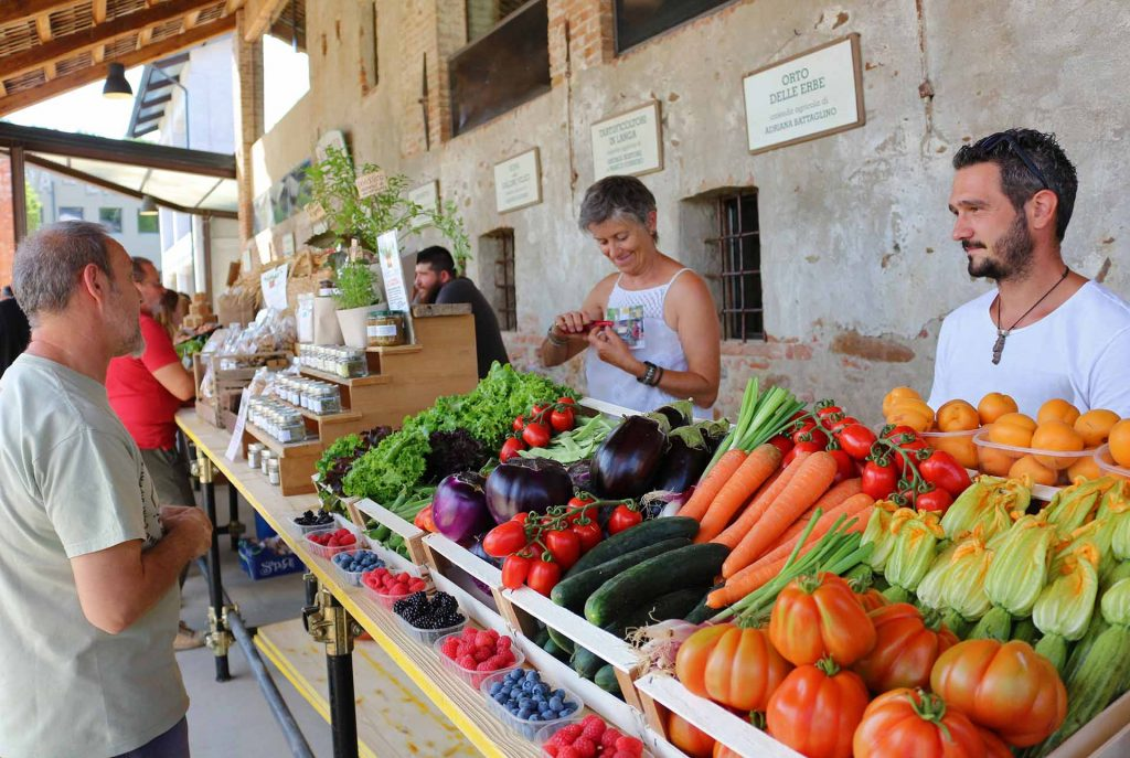 Casa Vacanze Fusina (Dogliani) - Open Garden Baladin: mercato