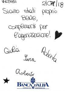 Casa Vacanze Fuisna (Dogliani) - Recensione Giulia, Roberta, Sara e Roberto