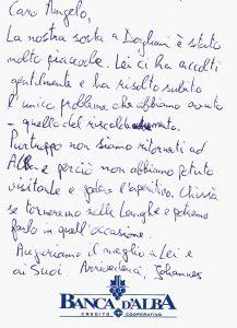 Casa Vacanze Fusina (Dogliani) - Recensione Johannes