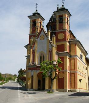 Piloni del Rosario e Santuario Madonna delle Grazie